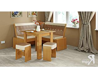 Кухонный уголок ТриЯ Кантри-мини Т2 исп.1, арт. МФ-105.035 со столом