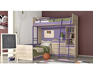 Купить кровать ТриЯ Индиго №6, арт. ГН-145.006
