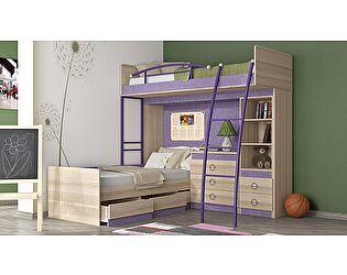 Двухъярусная кровать ТриЯ Индиго №7 ГН-145.007