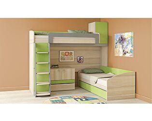 Двухъярусная кровать ТриЯ Киви №5, арт. ГН-139.005