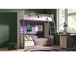 Двухъярусная кровать ТриЯ Индиго №4, арт. ГН-145.004