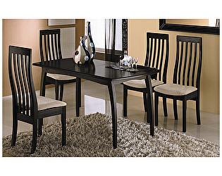 Раздвижной стол Бештау Сонет Т1 со стульями Вагнер Т1
