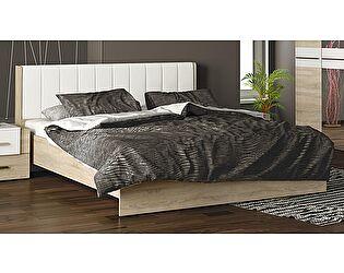 Кровать ТриЯ Ларго СМ-181.01.002 с мягким изголовьем