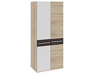 Шкаф для одежды ТриЯ Ларго СМ-181.07.004 с 1-й глухой и 1-й зеркальной дверью