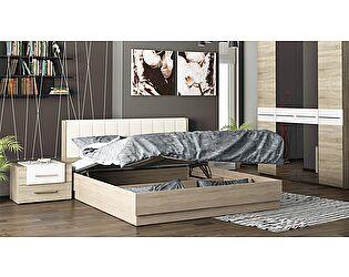 Кровать ТриЯ Ларго СМ-181.01.004 с подъемным механизмом и мягким изголовьем