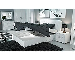 Кровать ТриЯ Амели мягким изголовьем СМ-193.01.004 с подъемным механизмом