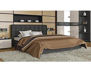 Кровать ТриЯ Сити СМ-194.01.003 с мягким изголовьем