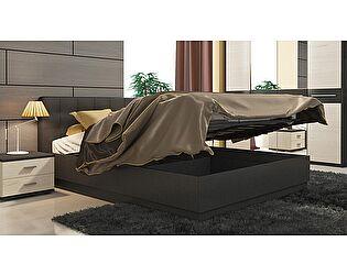 Кровать ТриЯ Сити СМ-194.01.004 с мягким изголовьем и подъемным механизмом