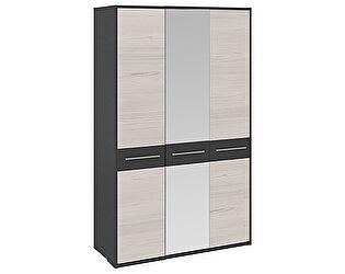Шкаф ТриЯ Сити (СМ-194001/СМ-194004) ГН-194.041 с 3-мя дверями с зеркалом