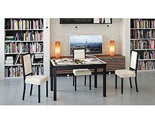 Раздвижной стол Бештау Диез Т11 (С-343) со стеклом