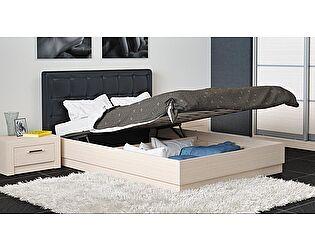 Кровать ТриЯ Токио СМ-131.13.002 с подъемным механизмом и мягким изголовьем
