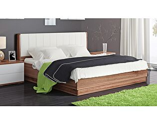 Кровать ТриЯ Рио ПМ-149.12 (160) с подъемным механизмом  и мягкой спинкой
