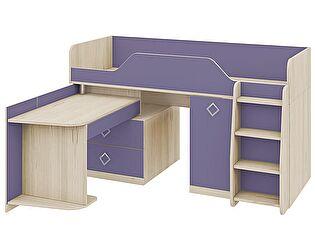 Кровать-чердак Аватар (комбинированная) СМ-201.02.001