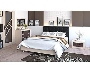 Кровать ТриЯ Токио СМ-131.02.002 с мягким изголовьем