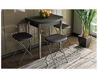 Купить стол ТриЯ Лион мини с хромированными ножками, арт. СМ-204.01.2