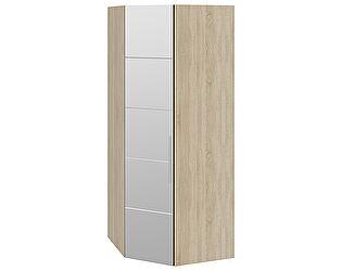 Шкаф ТриЯ Ларго Люкс угловой для одежды с зеркальной дверью левый, СМ-181.07.014 L