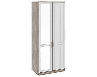 Шкаф для одежды с 1-ой глухой и 1-ой зеркальной дверями Прованс СМ-223.07.005L