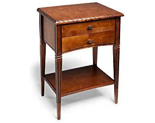 Купить стол Уфамебель Консоль Zzibo, цвет орех 154