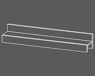 Полка навесная Уфамебель Рио 1100