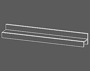 Полка навесная Уфамебель Рио 1500