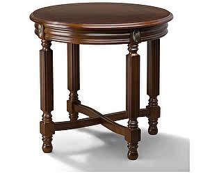 Купить стол Уфамебель круглый арт 726, цвет орех