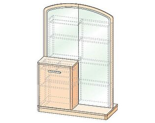 Купить стол Уфамебель туалетный трансформер Джустин