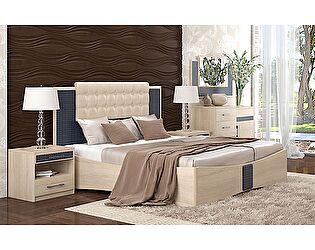 Кровать Уфамебель Франческо 160 беж