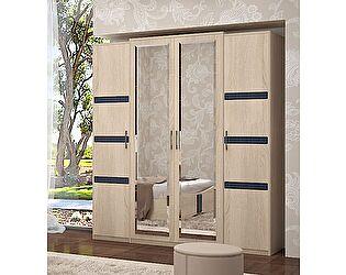 Шкаф Уфамебель Франческо 4х дверный для одежды
