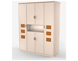 Шкаф Уфамебель Кэри Gold для одежды и белья