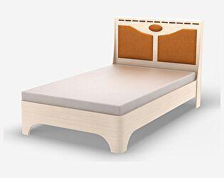 Кровать Уфамебель Кэри Gold шириной (120)