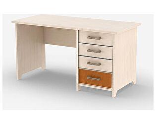 Купить стол Уфамебель Кэри Gold шириной 1400 мм