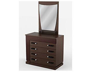 Комод - туалетный стол с зеркалом Уфамебель Petra