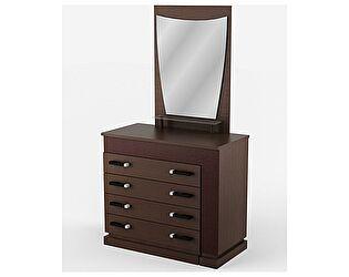 Комод - туалетный стол с зеркалом Уфамебель Petra правый