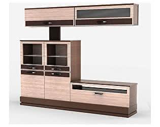 Купить шкаф Уфамебель комбинированный на цоколе Николь, левый