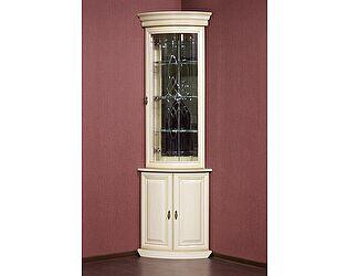 Купить шкаф Юта Милан 6+4 (позитано) витрина угловая