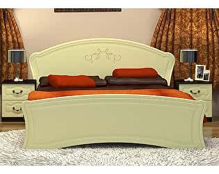 Кровать с основанием (140)  VitaMebel Vivo-6
