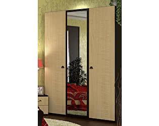 Шкаф 3х дверный с зеркалом VitaMebel Vivo-7