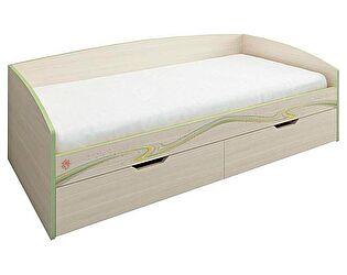Кровать 90 Витра Акварель с основанием, арт. 53.11