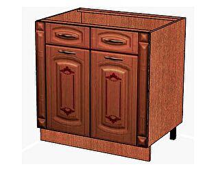 Стол с 2-мя ящиками с колоннами Витра Глория, 06.63.2