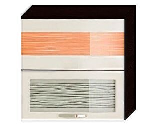 Шкаф-витрина 80 с подъемником Витра Оранж-9, арт.09.81