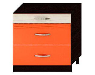 Стол с 3я ящиками Витра Оранж-9, арт.09.92