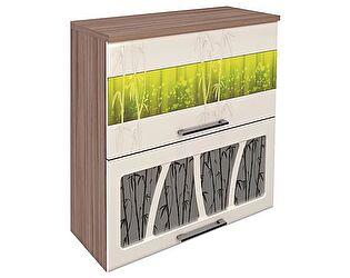 Шкаф-витрина 80 с системой плавного закрывания Витра Тропикана-17, арт.17.81