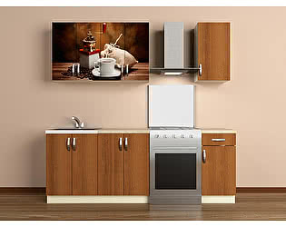 Кухонный гарнитур ВиВера 1600 с.02
