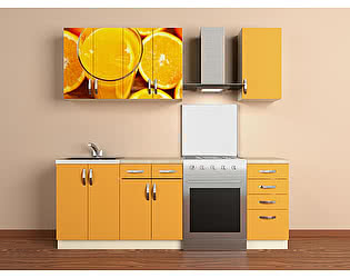 Кухонный гарнитур ВиВера 1600 с.06