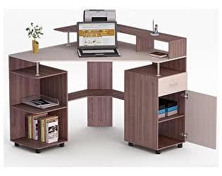 Угловой компьютерный стол ВМФ Роберт-10