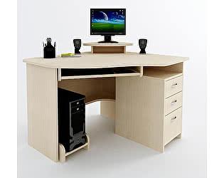 Угловой компьютерный стол ВМФ Адриан-5