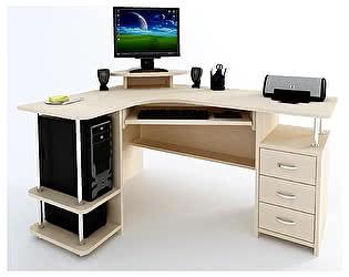 Угловой компьютерный стол ВМФ Адриан-7