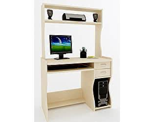 Компьютерный стол ВМФ Адриан-4 с надставкой