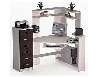 Угловой компьютерный стол ВМФ Лекс-19