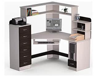 Угловой компьютерный стол ВМФ Лекс-20